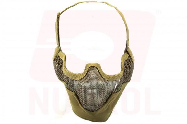 Nuprol Mesh Lower Face Shield V2 / Tan