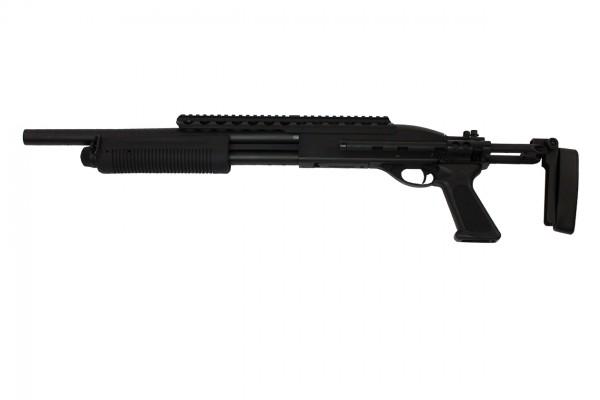 A&K 7870 Tactical Shotgun w/ EBR Stock / Short