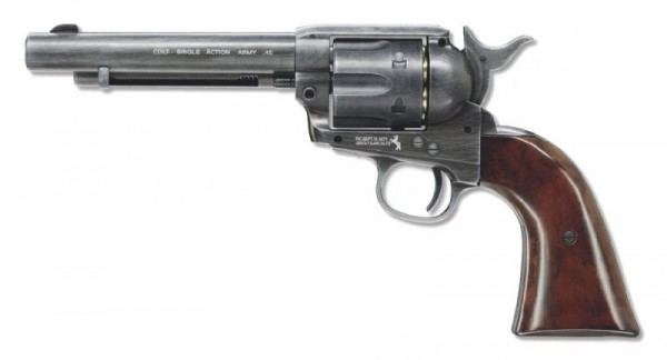 Colt Peacemaker SAA CO2 Revolver, Antique .177