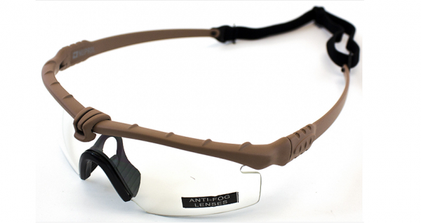 NP Battle Pro's Glasses (Tan Frame)