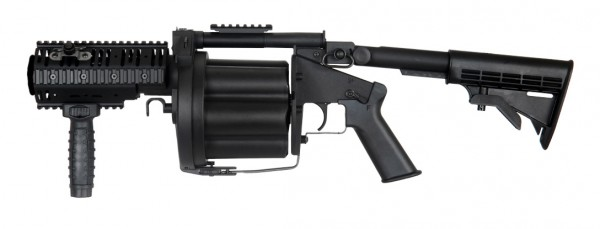 ICS MILKOR MGL Grenade Launcher Black (Short Version)