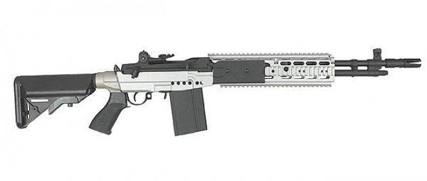 CYMA M14 EBR - Silver - JD Airsoft Ltd M14 Ebr Silver