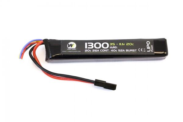 NP 11.1v 1300Mah Lipo Stick Battery