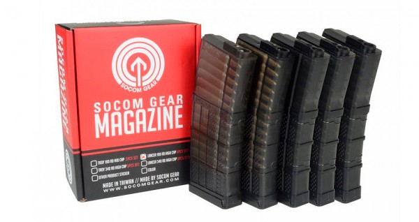 Socom Gear Lancer L5 Advanced WarFighter 190rd Magazine (5pcs)