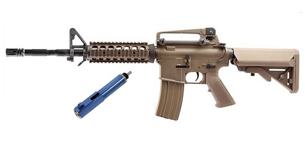 WE Katana M4A1 RIS Tan (Blue)