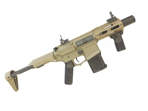 Ares Amoeba Honey Badger CQB Tan