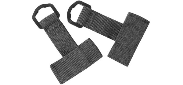 Viper Modular D Rings (x2) Black