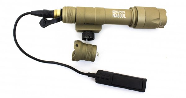 Nuprol NX600L Tactical Torch Black Tan