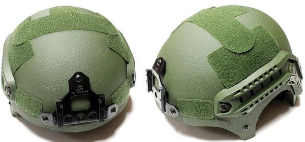 Nuprol IBH Railed Helmet - OD