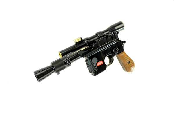 Armorer Works M712 Smuggler Blaster Withe Scope And Flash Hider
