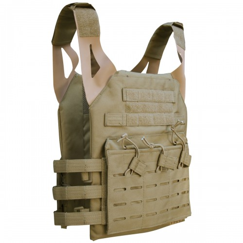 Viper Lazer Special Ops Plate Carrier Black Coyote