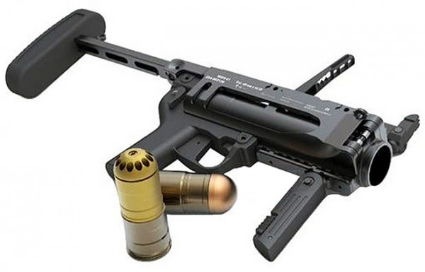 Iron Airsoft M320A1 40mm Grenade Launcher