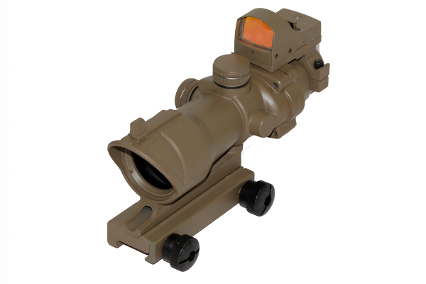 WE ACOG 4x32 DR Sight FDE