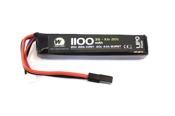 NP 11.1v 1100Mah Lipo Stick battery