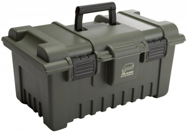 Plano Shooters Case XL With Gun Rest - Green