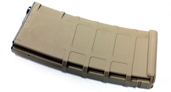 WE MSK 300rd Magazine Tan