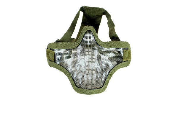 Nuprol Lower mesh Mask - Skull Olive