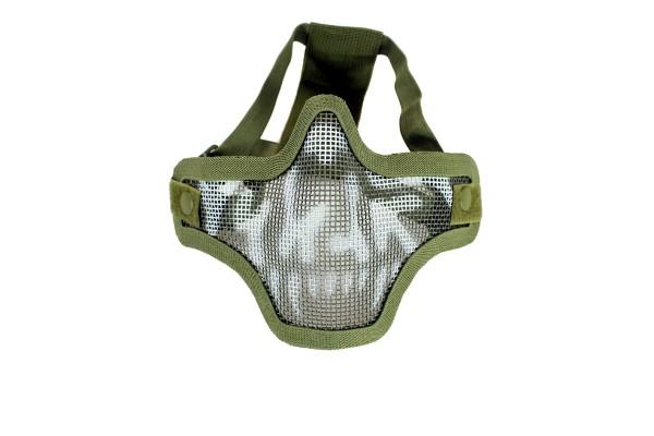 Nuprol Lower mesh Mask - Skull Olive