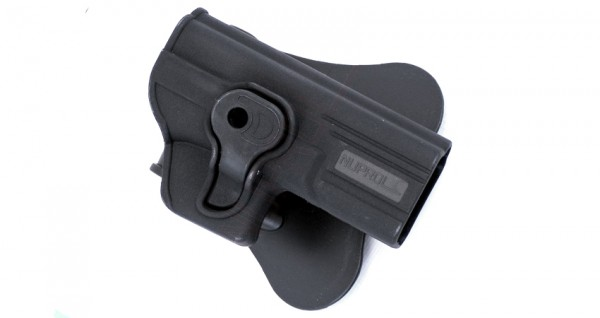 Nuprol EU (Glock) Series Retention Paddle Holster