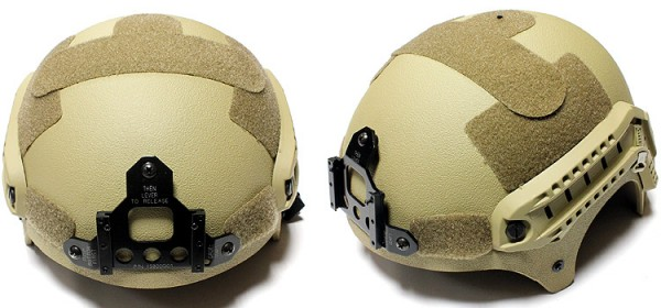 Nuprol IBH Railed Helmet - Tan