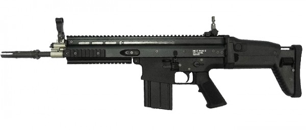WE MCR Mk17 Scar Heavy Black
