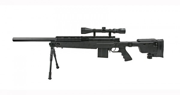 WELL MB4406D Sniper Rifle with Scope & Bipod