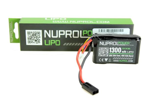 NP Power 11.1v 1300mAh PEQ Micro Lipo