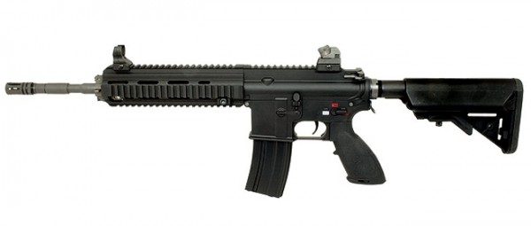 WE 416 888 Black Rifle