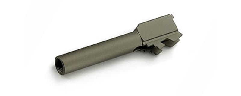 GG Metal Outer Barrel with Silencer Adaptor for Glock 19
