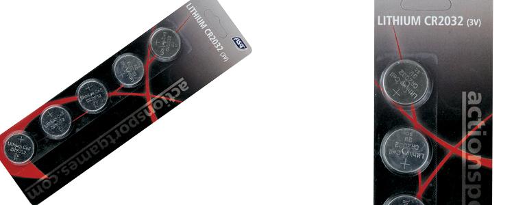 ASG CR2032 battery (5pcs)