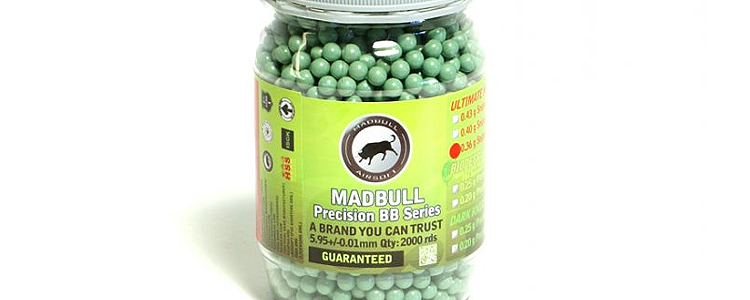 Madbull Precision Ultimate Heavy 0.36g 2000rds
