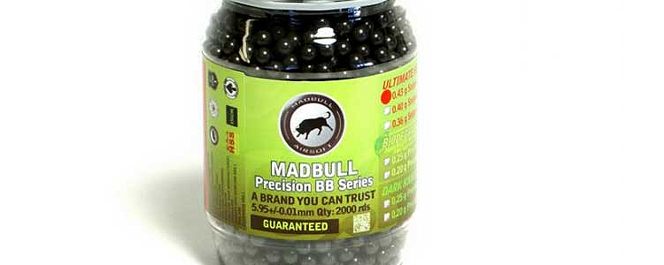 MadBull Precision 0.43g Ultimate Heavy 2000rds