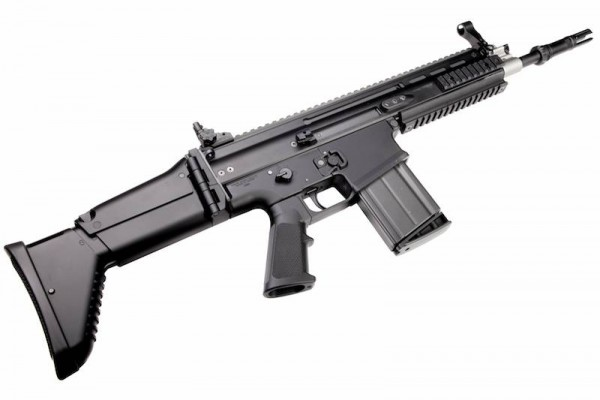 WE Europe MK17 Scar H GBB Black