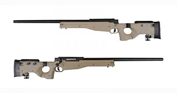 WELL MB08A 338 Sniper Rifle - Tan