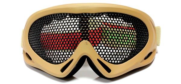 Nuprol Mesh Goggles - Tan