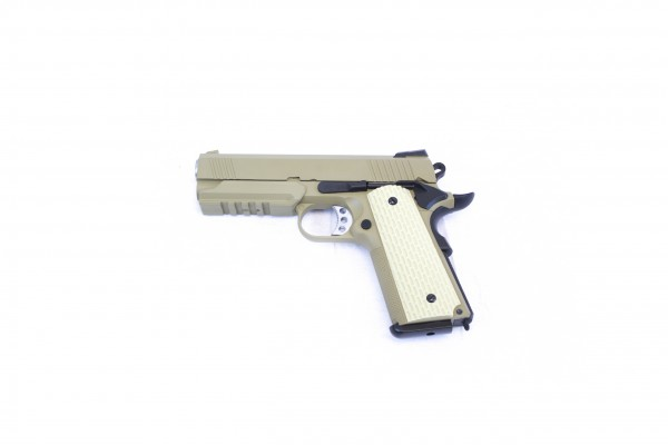 WE 1911 Desert Warrior 4.3 Tan