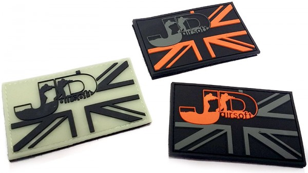 JD Airsoft Patches