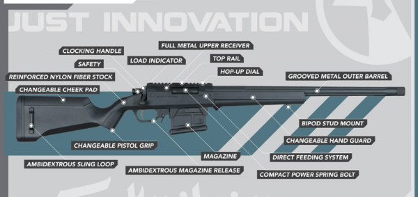 Amoeba Striker AS-01 Sniper Rifle