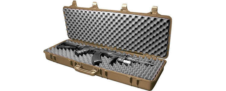 STTS Hard Shell Gun case Tan