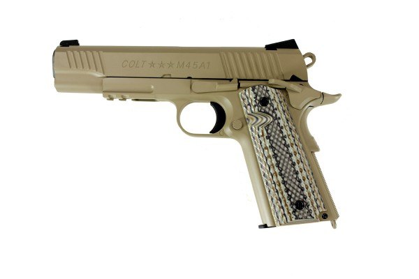 Cybergun Colt 1911 Rail Gun Tan
