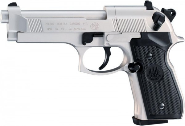 Beretta 92 Nickel .177