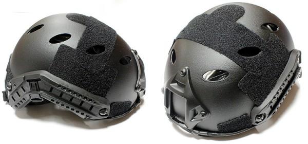 Nuprol FAST Railed Helmet - Black