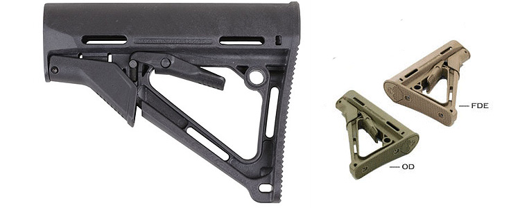 Element CTR Stock for M4 green