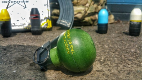 TAG Innovations TAG-67 Airsoft BB Grenade - Pack of 6