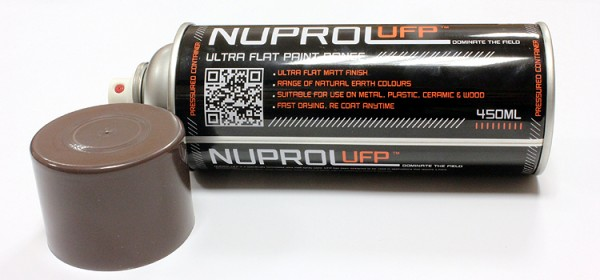 Nuprol UFP Flat Earth Brown - 450ml