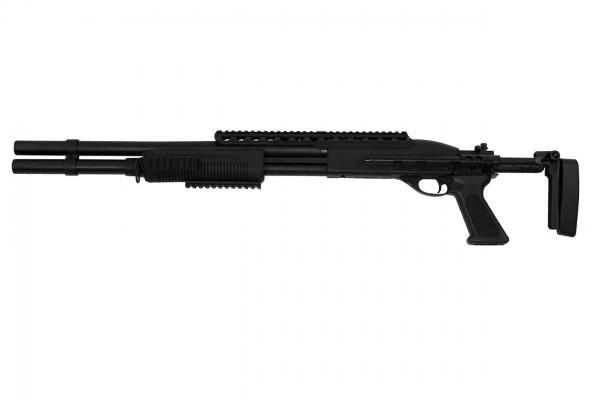 A&K 7870 Tactical Shotgun w/ EBR Stock / Long