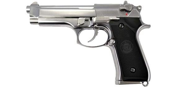 WE M92 Gen2 (LED Case) Silver