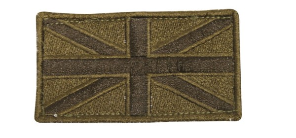 Viper Union Jack Patch (x2) OD