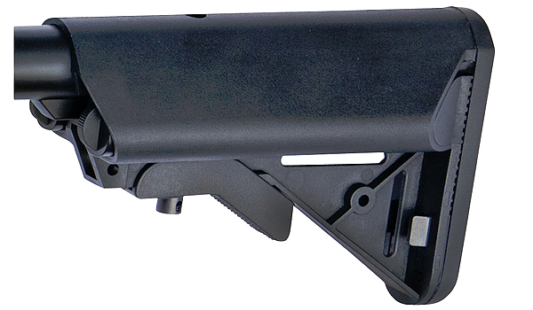 ASG Crane Stock for M4 Series Black