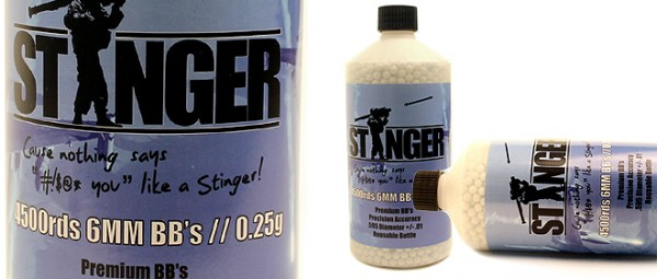 Stinger 0.25g 4500rd bottle (refillable option)